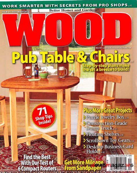 wood magazine    magazines magazines