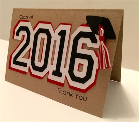 Unique Graduation Thank You Cards