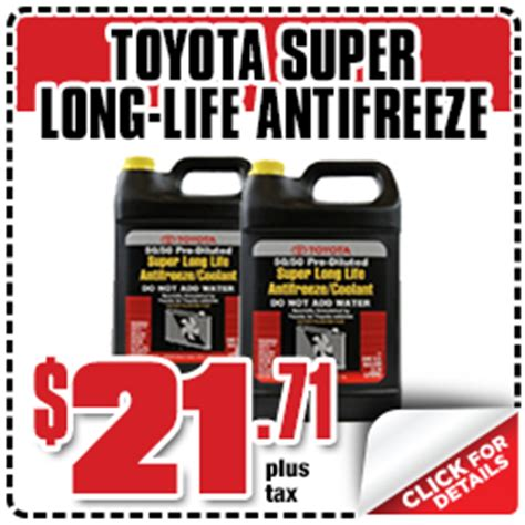 Toyota Parts Discount Save On Genuine Toyota Parts With These Special Offers In
