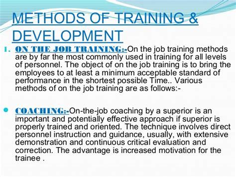 employee training amp development