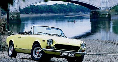 Thames Abarth Greatest Cars Fiat 124 Spider