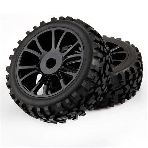 4pcs Black 1 9 Wheel Rims For Hsp Hpi Racing 1 10 Rc Model 4wd Car 60 4pcs 1 8 rc car wheels tires road car buggy for hsp hpi black ebay
