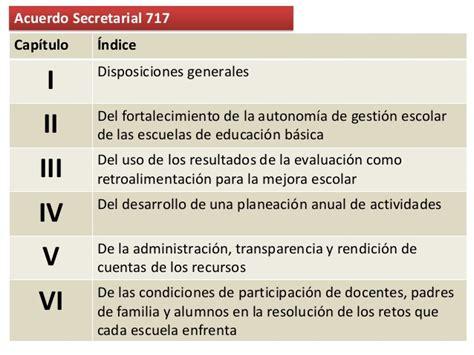 sep dgespe sistema para el fortalecimiento de la acuerdo 717 sep