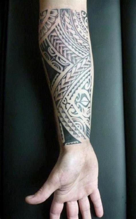 tribal forearm tattoos tribal tattoos