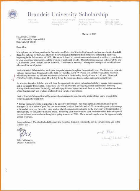 5  letter for scholarship application   ledger paper