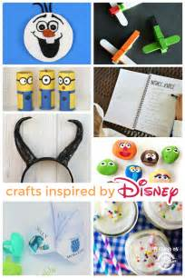 Disney Inspired Crafts And Activities For Kids Family | 55 disney crafts