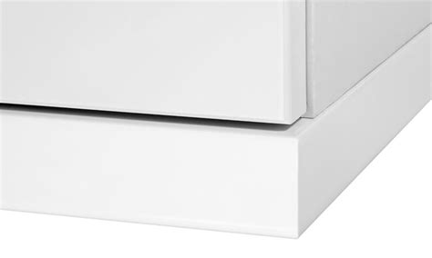 High Gloss White Kitchen Cornice cornice pelmet 2 6mtr square edge high gloss white to suit curved section hpp