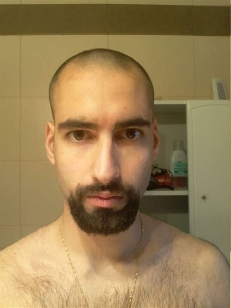 haircut to grow out bald 17 best images about hair growth to long from shave or