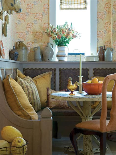 kitchen corner banquette kitchen table centerpiece design ideas hgtv pictures