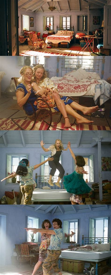 mamma mia bedroom most memorable bedrooms in film 18 mamma mia click
