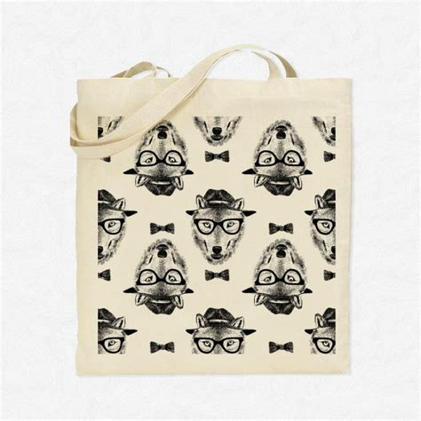 pattern for t shirt tote bag tote bag seamless pattern dressed up wolf mayooo t