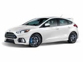 Ford Hatchback 2016 Ford Focus Rs Hatchback San Diego