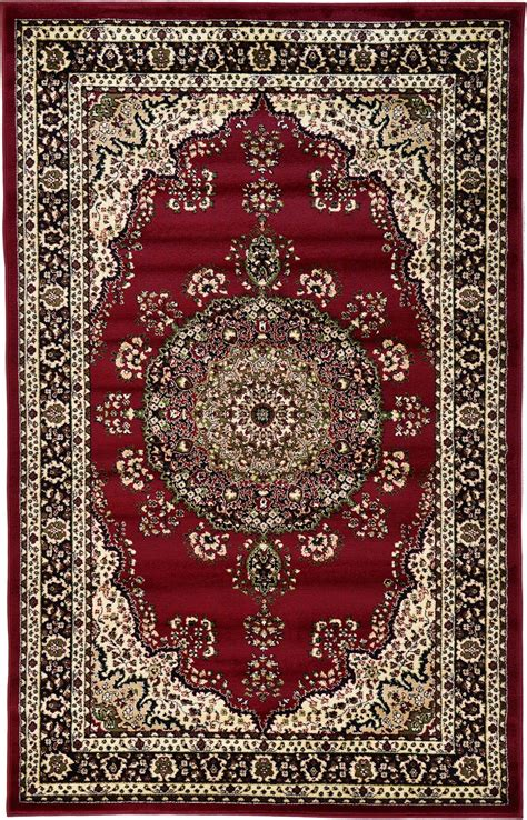 Vintage Story Carpet Classic kashan design rugs traditional area rug medallion border classic carpets ebay