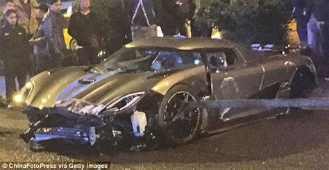 koenigsegg crash drunk driver crashes 163 2 7m koenigsegg agera into a