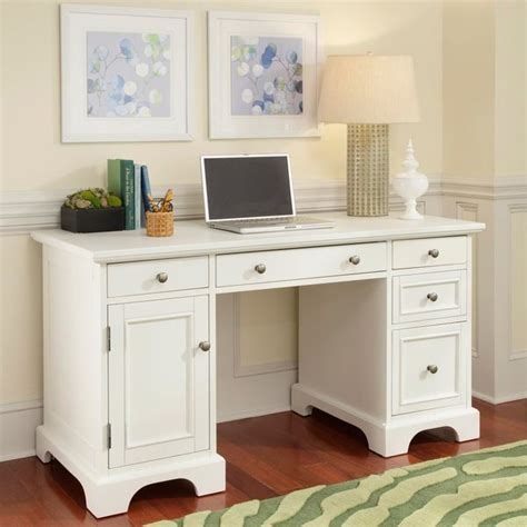 24 inch wide desk naples white finish pedestal desk 30 25 inches high x 54