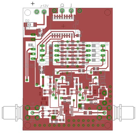 pcb layout quiz setup datv dvb s print for raspberry pi in the english