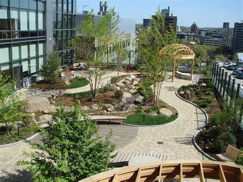 imagenes de jardines terrazas dise 241 o de pasarelas para las terrazas jard 237 n arquimaster