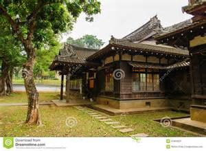 maison de style japonais dans taiwan photo stock image