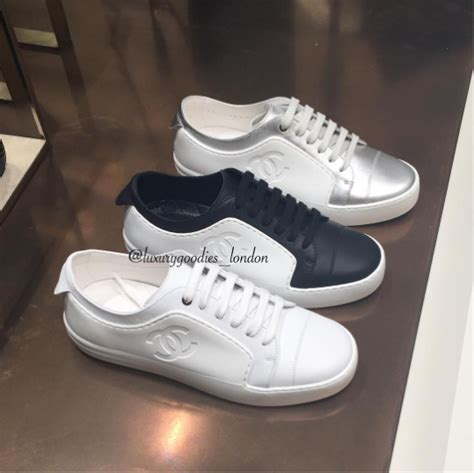 chanel sneakers chanel sneakers from cruise and summer 2017