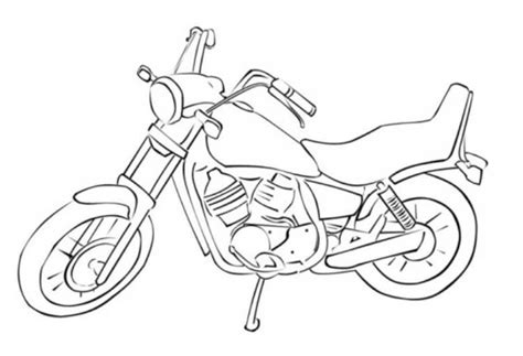 coloring pages motorcycles print printable motorcycle coloring pages for preschoolers