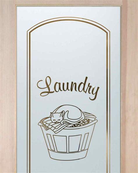 Laundry Room Door Etched Glass Comfy Cozy Laundry Room Door Sans Soucie