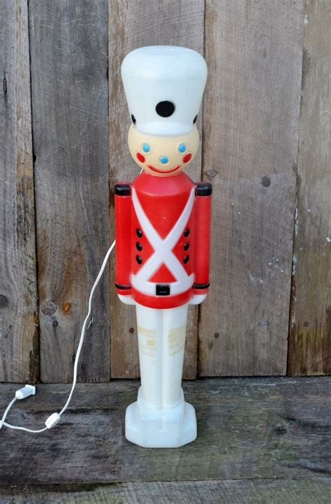 outdoor nutcrackers for sale at lowes vintage soldier nutcracker plastic mold light up yard ornament decoration