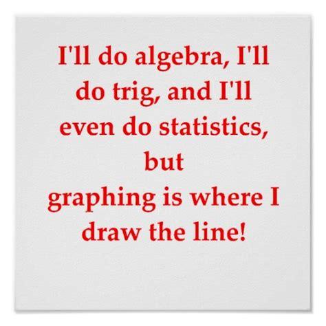 Funny math joke posters zazzle