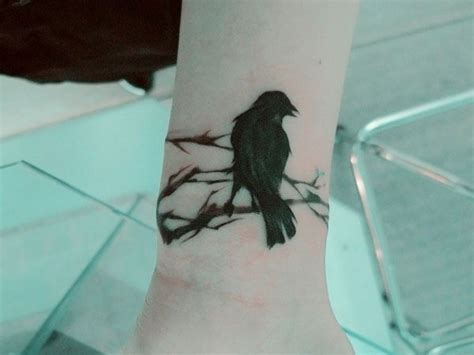 blackbird tattoo meaning japanese watercolor style ink