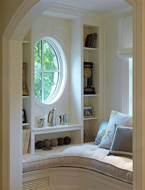 nook ideas adorable round window side cute storage right for nook