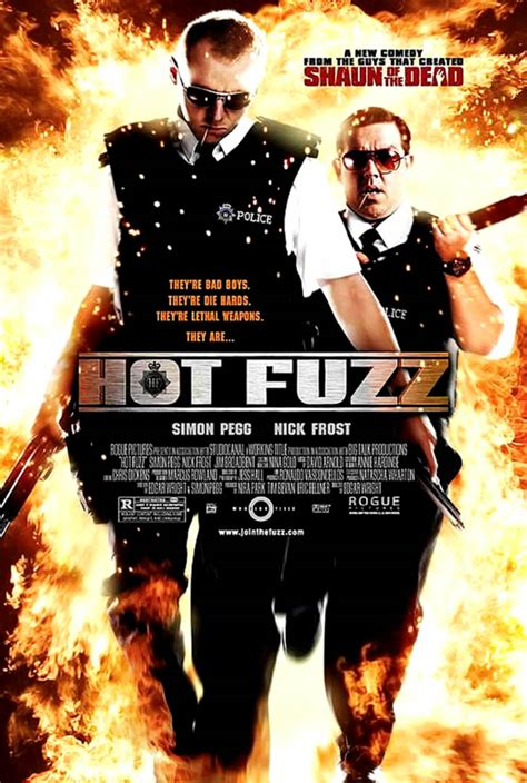film comedy hot hot fuzz comedy movie posters