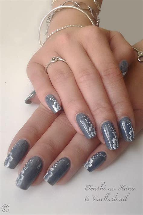 easy nail art poppy design one stroke 1000 ideas about grey nail designs on pinterest fun