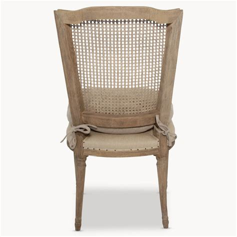 Bergere Dining Chairs Merles Bergere Backed Dining Chair Furniture La Maison Chic Luxury Interiors
