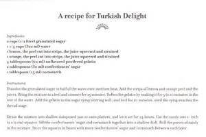 technohat s forgotten archives turkish delight recipe