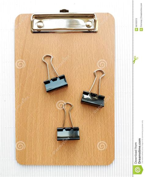 writing board papers writing board and paper clip stock photo image 66193313