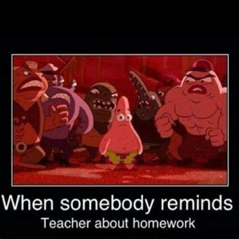 Spongebob Homework Meme - patrick math funny
