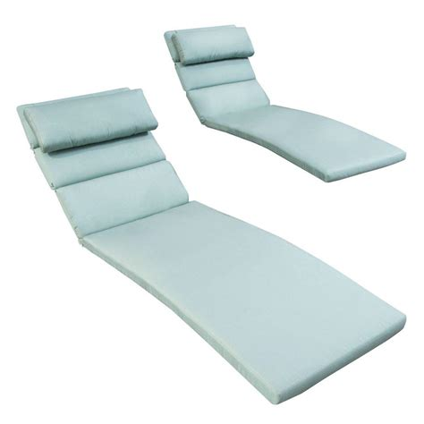most comfortable chaise lounge cushions hton bay petula outdoor chaise lounge cushion 7407
