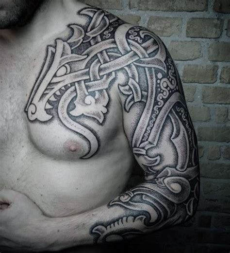 traditional viking tattoos 100 norse tattoos for designs