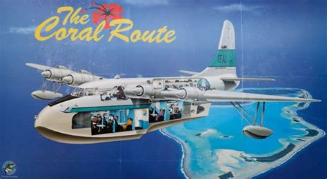 flying boat nz air new zealand s flight engineers teal flying boats