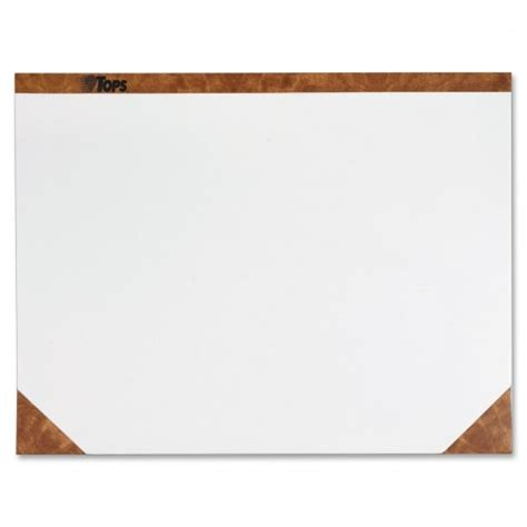 Desk Paper Pad by Tops Plain Paper Desk Pads Ld Products