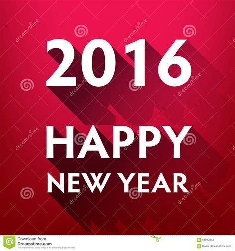beautiful happy new year design beautiful text design of happy new year stock vector