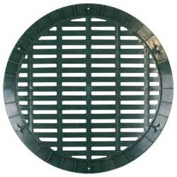 Culvert pipe grates pipe ideal for use with 18 corrugated or