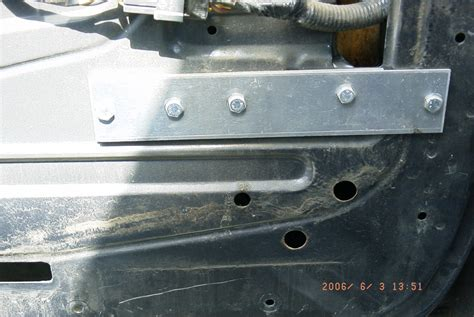 Front Door Reinforcement Aero Front Door Inner Skin Cracks Repair Ford Truck Enthusiasts Forums