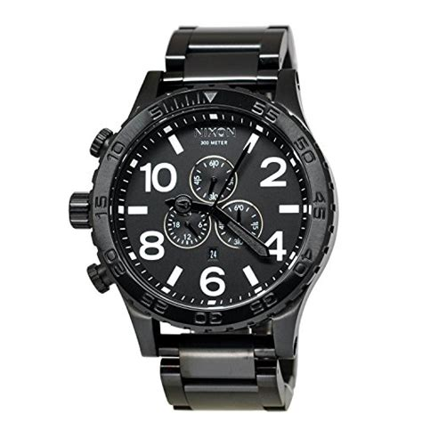 best nixon nixon 51 30 chrono a083 all black a083 001 best