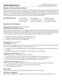 Housekeeping Manager Resume Sle by Doc 5600 Sle Resume Housekeeping Attendant 86