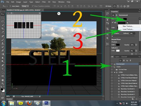 adobe photoshop quick tutorial 3d text with adobe photoshop cs6 extended quick easy