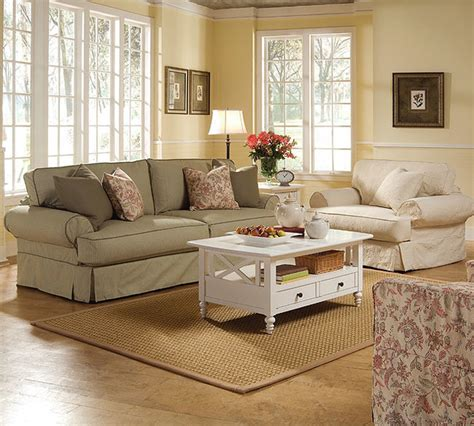Modern Slipcovered Sofa Rowe Slip Cover Sofa Collection Modern Sofas Other Metro By Sofas And Sectionals