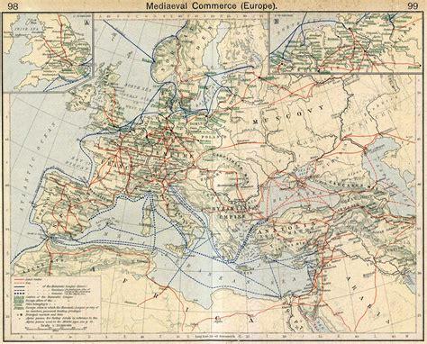 medieval europe map of medieval europe