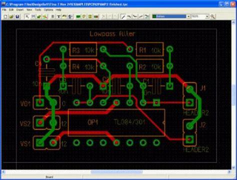Cetak Pcb Gate Pdsprj Gerber pcb design with tina