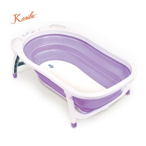 Karibu Folding Bath Blue karibu folding bath tub purple bathing