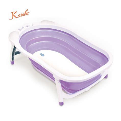 Karibu Folding Baby Bath Tub karibu folding bath tub purple bathing